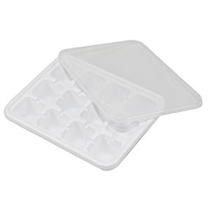 Форма для кубиков льда с крышкой 654106
