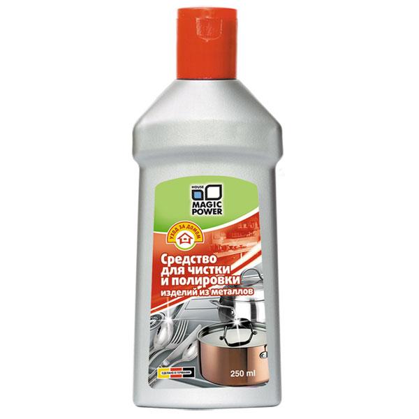 Средство для чистки и полировки изделий из металлов, 250 мл МР-704