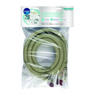 Шланг для стиральных и посудомоечных машин с защитой от протечек 2.5м.