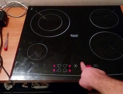 Ремонт плиты газ горение